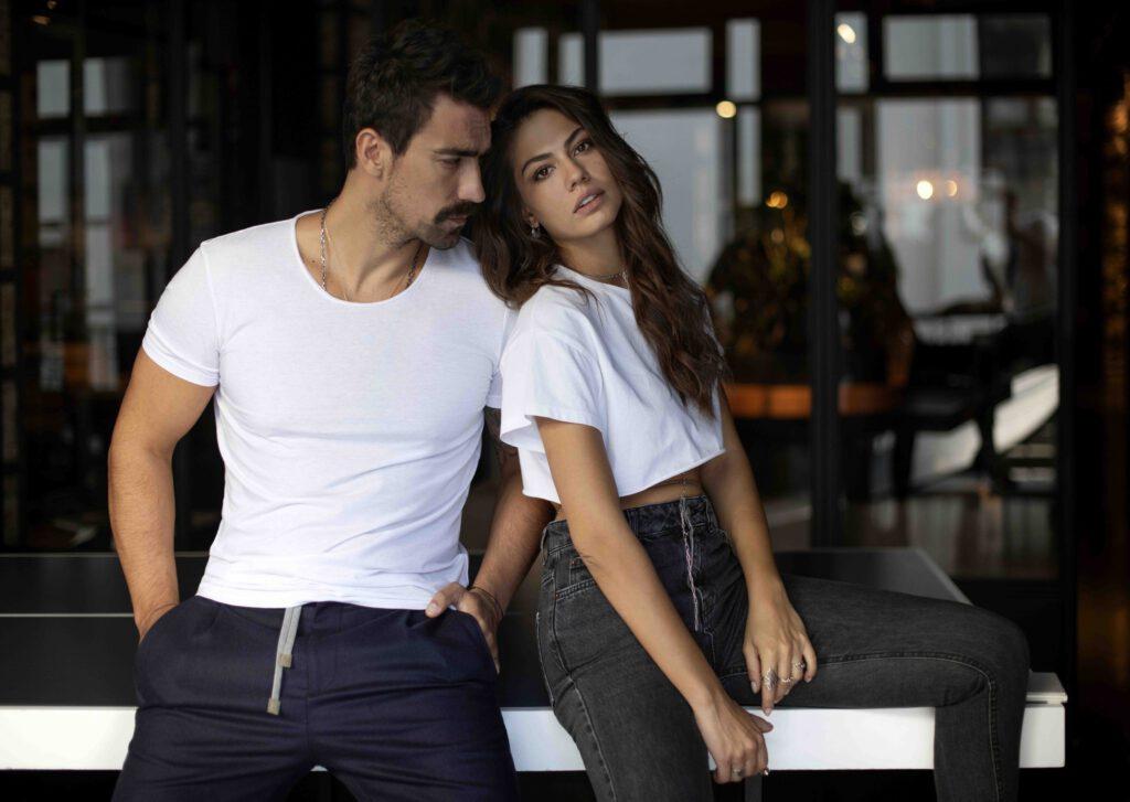 Evim dizisi oyuncuları: İbrahim Çelikkol (Mehdi) ve Demet Özdemir (Zeynep)