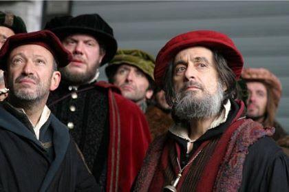 Al Pacino Venedik Taciri Filmi